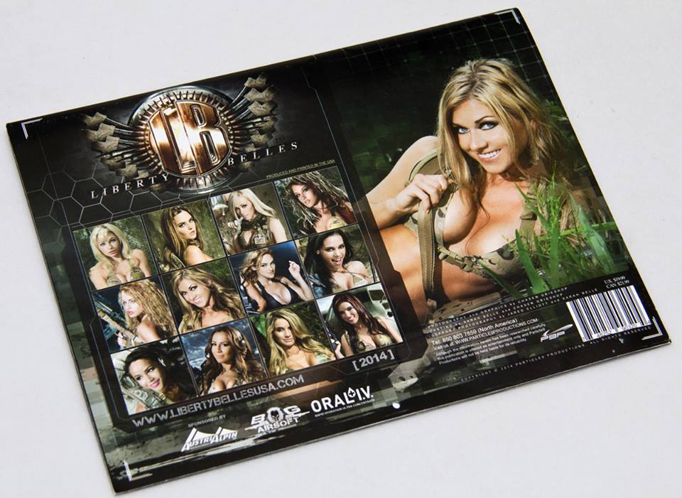 Liberty Belles 2014 calendar now available (2)