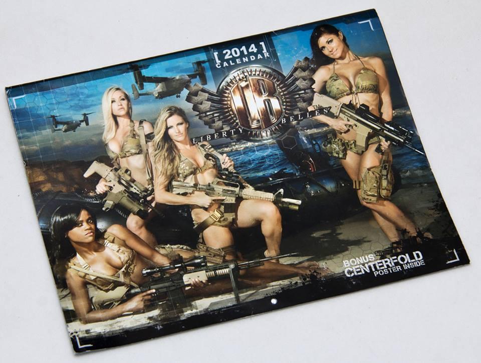 Liberty Belles 2014 calendar now available