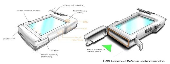 Meet the Juggernaut Defense ruggedized iPhone 5 case and mounts (3)