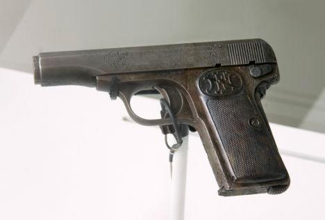 Princip's FN Browning designed M1910