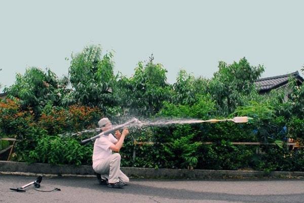 RPG-7 Water rocket launcher