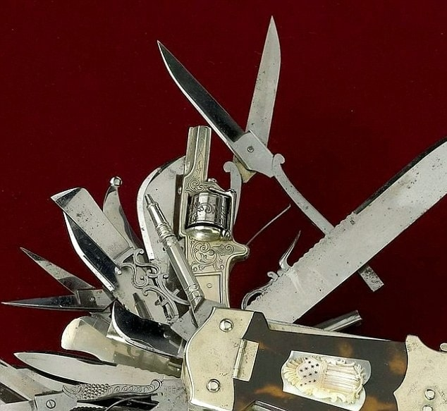Mother Of All Swiss Army Knives This 19th Century Multi