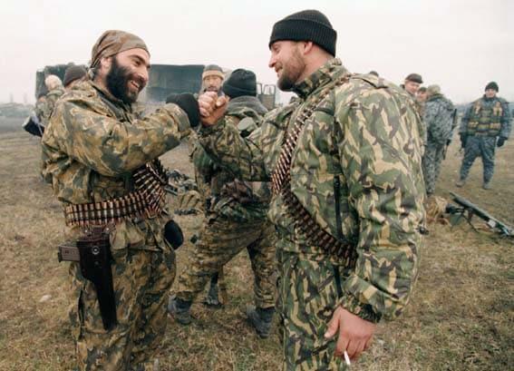 Chechen rebels stechkin pistol