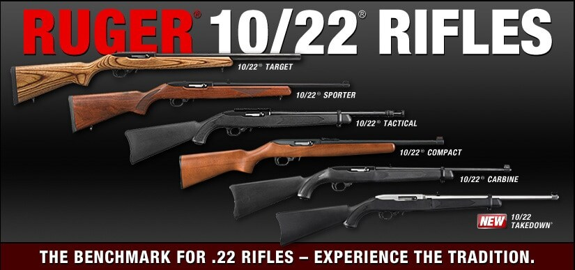 ad for full lineup of ruger 10-2 rifles