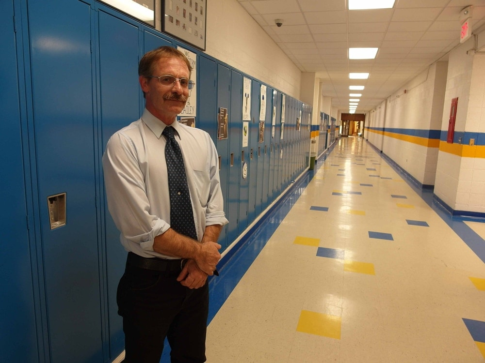 D'Wayne Johnston's resignation will be effective at the end of the school year on June 30. (Photo credit: Oil Patch Dispatch