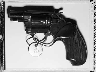 Charter Arms revolver Mark David Chapman