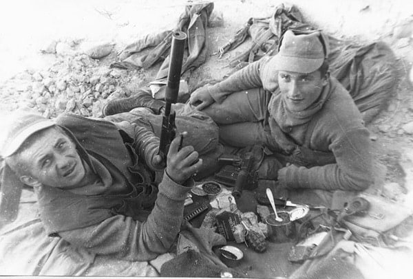 stechkin with spetsnaz in afghanistan
