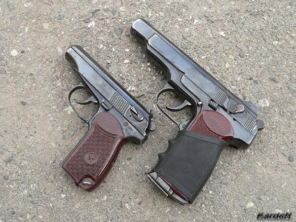 makarov stechkin pistol