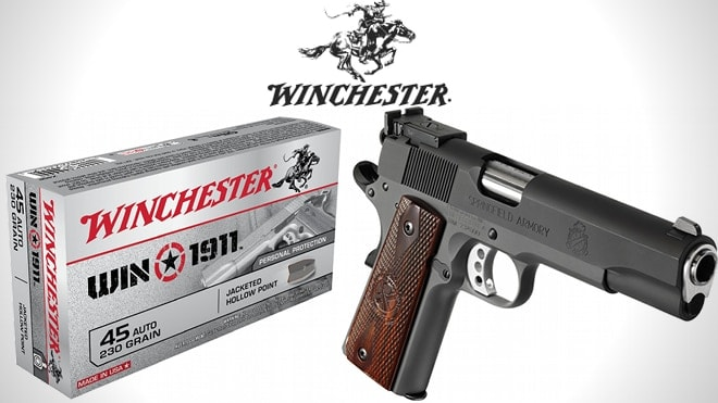 winchester 1911 ammo