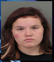 18-year-old Ansley Chrnalogar faces felony burglary charges. (Photo credit: Catoosa County Sheriff's Office)
