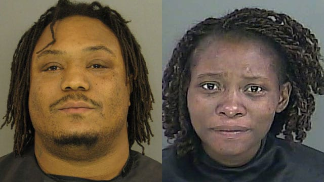 Steven Hagood and Tereba Geer have both been charged with murder. (Photo credit: Anderson Co. Sheriff's Office)