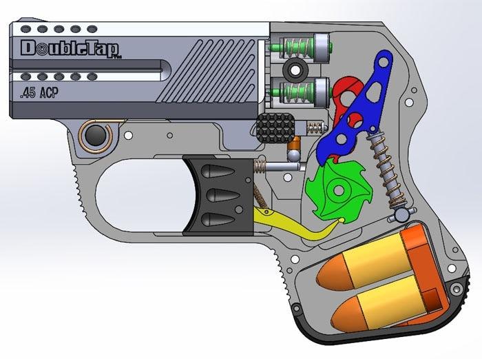 The guts of the DoubleTap (Image credit: DoubleTap Defense)