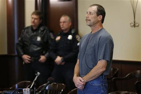 Theodore P. Wafer, 54, of Dearborn Heights, appears at his arraignment in 20th District Court in Deaborn Heights, Mich., Friday, Nov. 15, 2013.  (Photo Credit: AP)