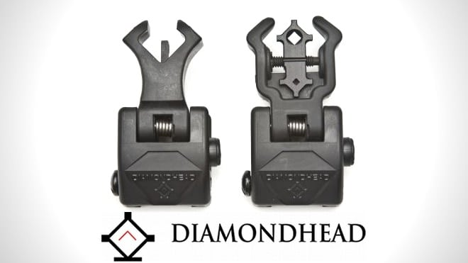 Diamond (Flip-Up) Polymer Sight