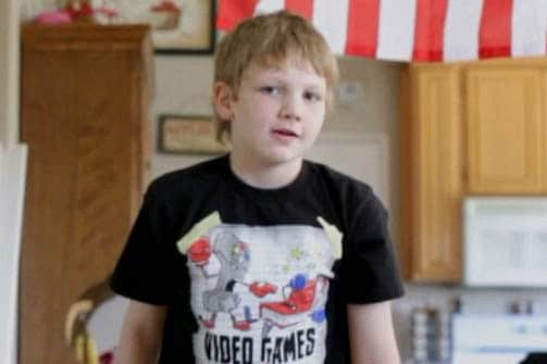 The boy told investigators that he had once seen an episode of a crime TV drama in which a boy shot and killed his abusive father and nothing happened to him. (Photo credit: CBS)