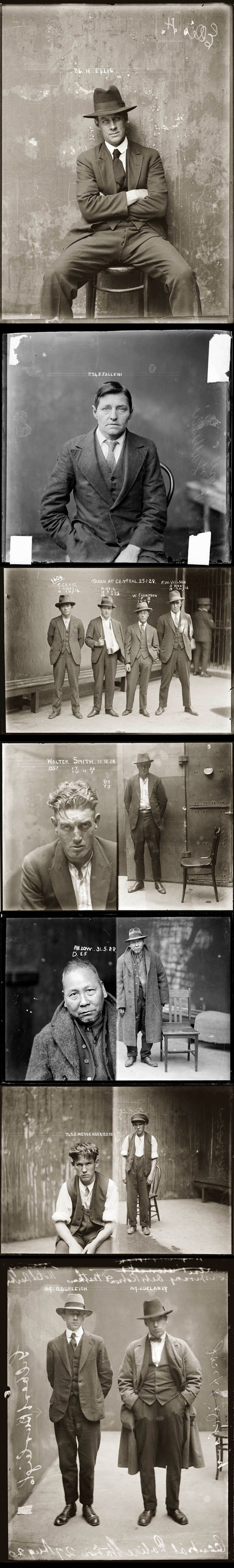 Police mugshots in the 1920s (2)