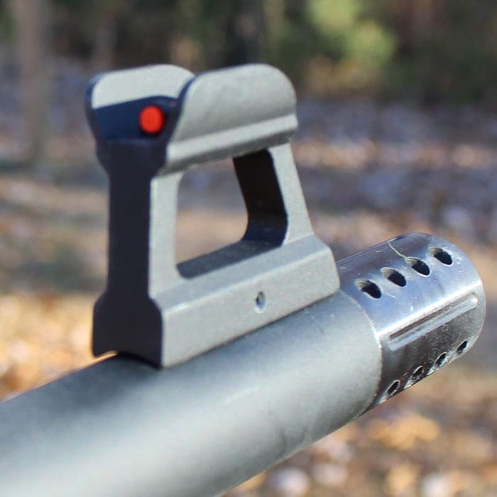 The pin on the front sight seems needs attention. (Photo by David Higginbotham)