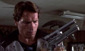 Terminator checks out an AMT Longslide