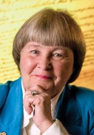 Marion Hammer, former NRA president.