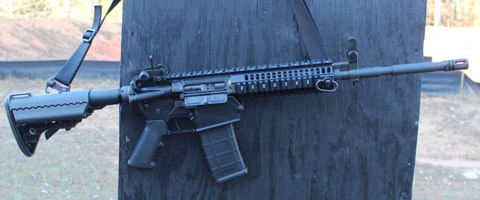 The LE901 with a Colt 5.56 upper. (Photo by David Higginbotham)