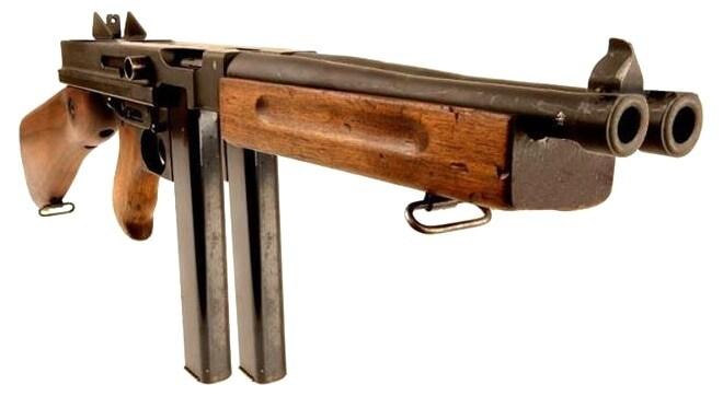 double tommy gun