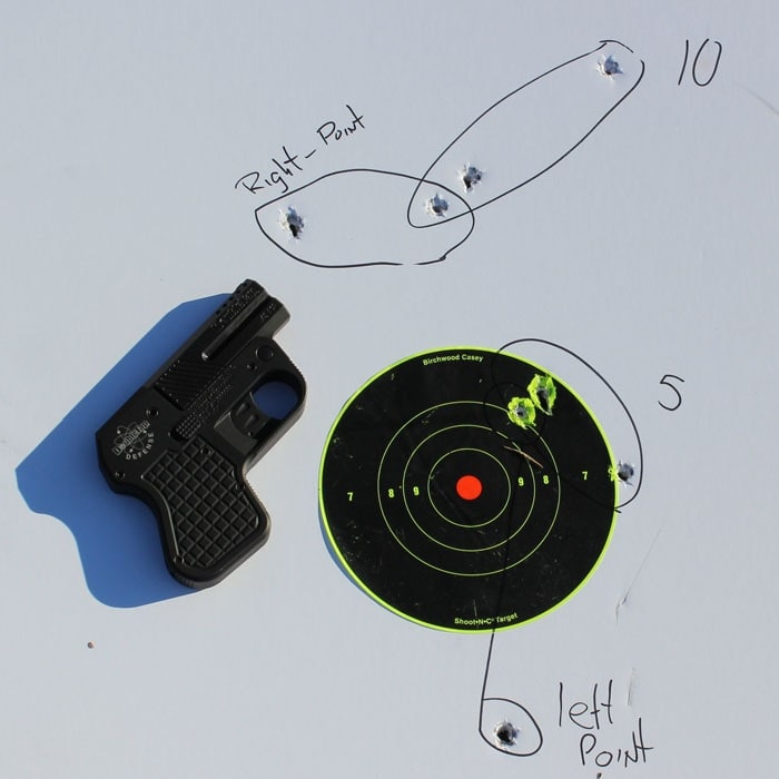 Aimed shots and point shooting from 5 and 10 feet.