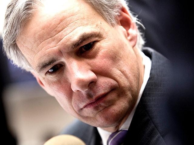 Texas Attorney General and gubernatorial candidate Greg Abbott.