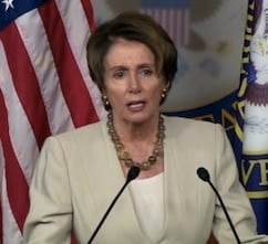 House Minority Leader Nancy Pelosi