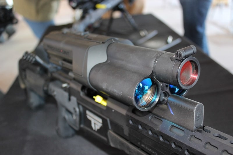 TrackingPoint scope. (Photo by Daniel Terrill)