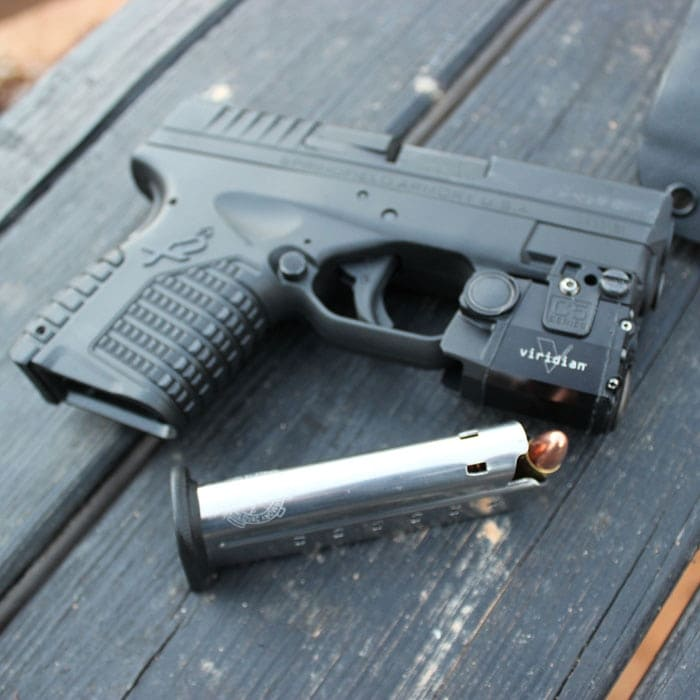 It looks larger on the XDS.  (Photo by David Higginbotham)