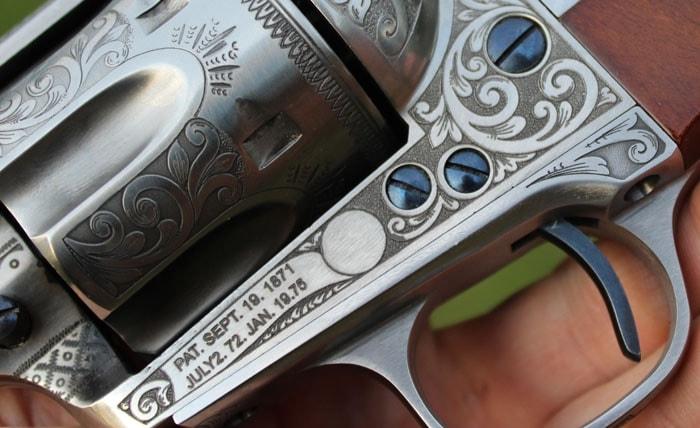 One handsome gun. (Photo by David Higginbotham)