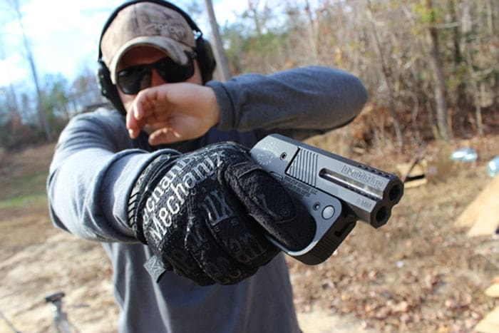 With the 9mm barrels, practice is more possible. (Photo by David Higginbotham)