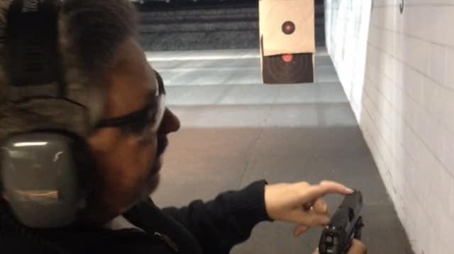 foti loading gun at range