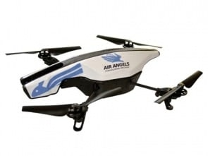A image of PETA's official 'Air Angel' drone.  Animal protectionist can purchase one for $324.99 on the PETA website.