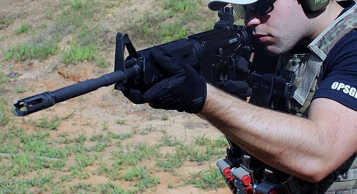 Enfield's robust AR. (Photo by David Higginbotham)
