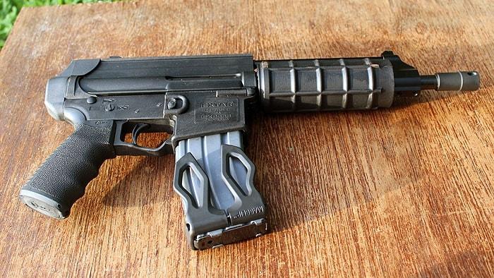 Smooth shooting fun-gun. (Photo by David Higginbotham)