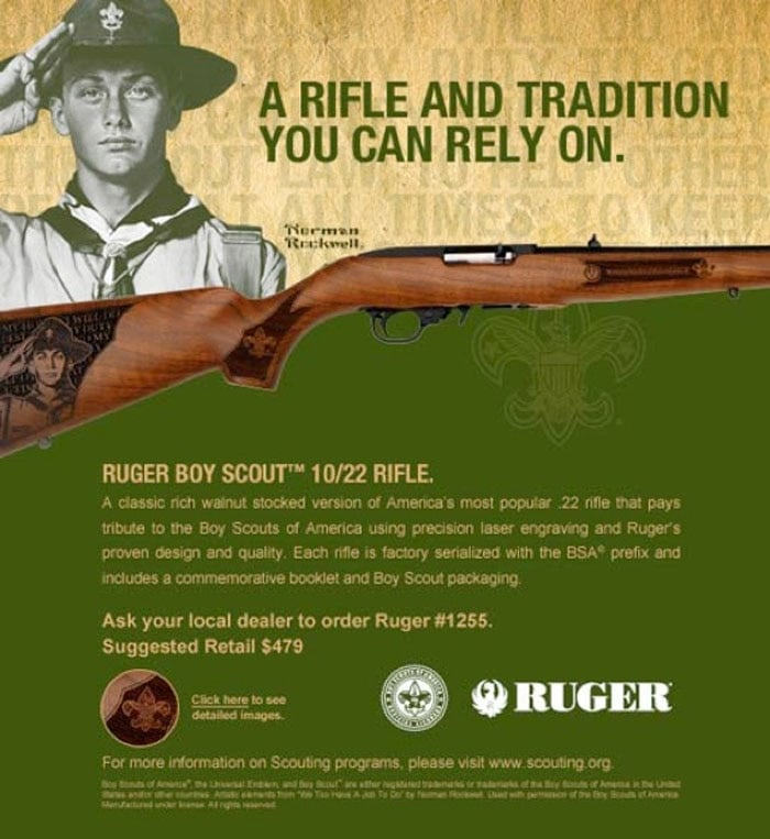 Is there a better gift for a Boy Scout? (Image credit: Ruger)