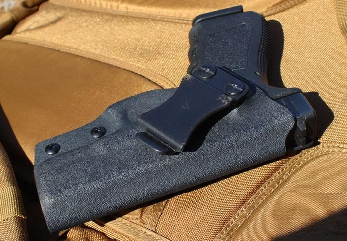 Multi Holster's Glock 19 IWB. (Photo by David Higginbotham)