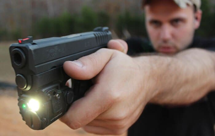 The C5L on a Springfield XDS. (Photo by David Higginbotham)