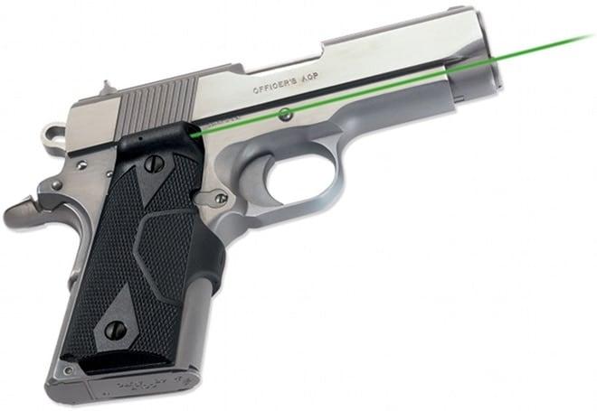 green 1911 laser grips (2)