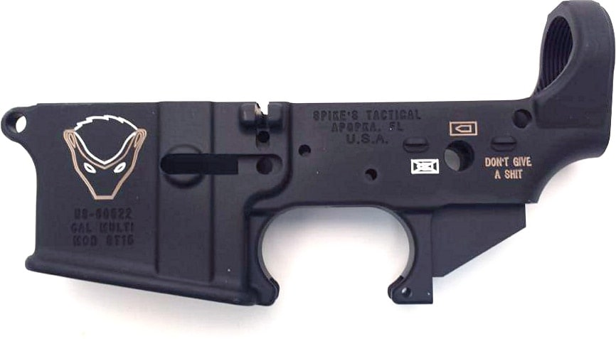 honey badger spikes tactical lower
