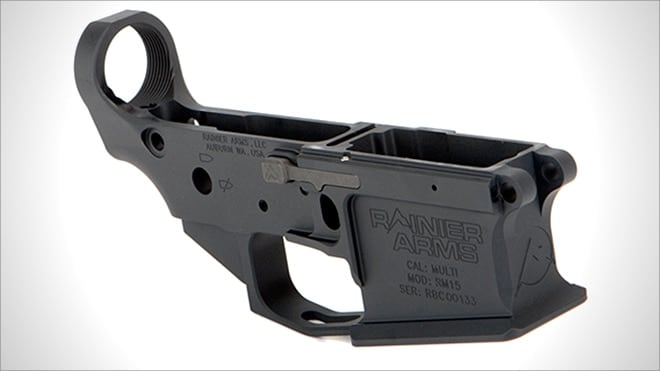 New AR-15 lowers by Rainier Arms, Wilson Combat and