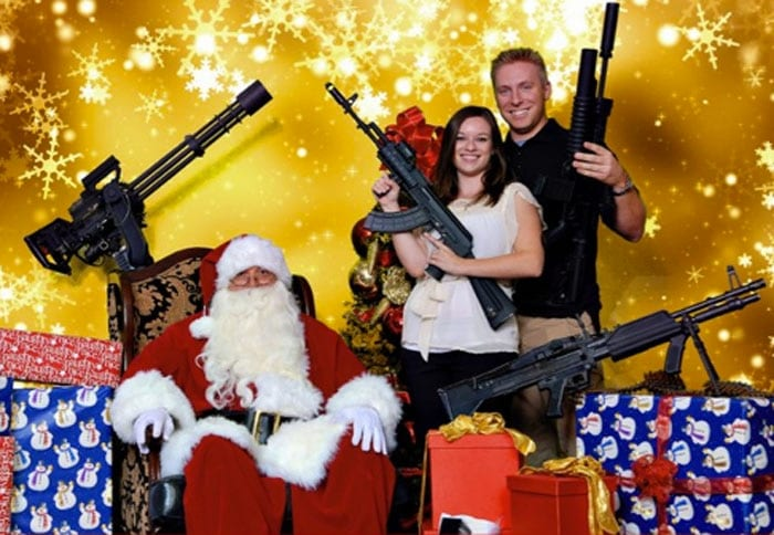 This is going to be a loud Christmas party. (Photo credit: Scottsdale Gun Club)