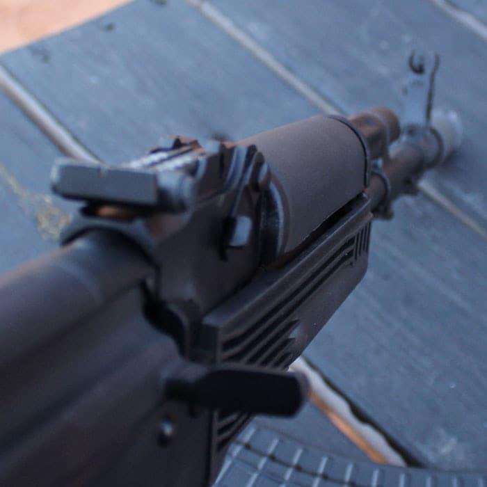 As good as AK iron sights get. (Photo by David Higginbotham)