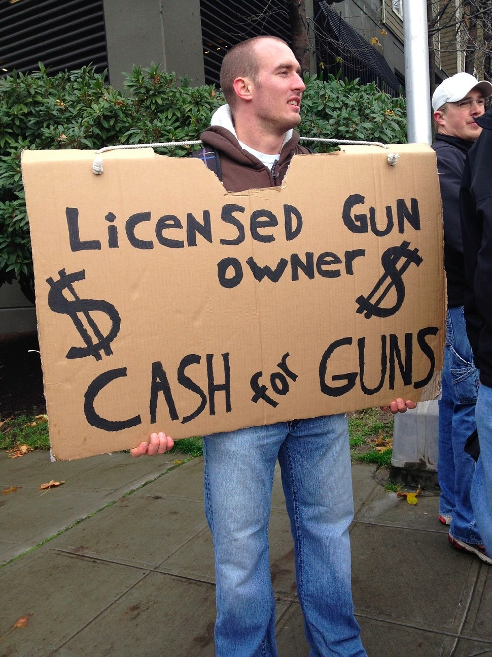 Many collectors looking for good deals are putting in work near local gun buyback events to save classics from the torch. Photo Credit: Seattle Times