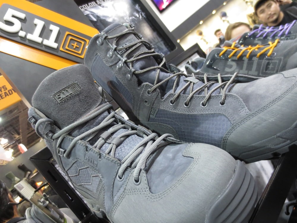 Storm Grey collection boots