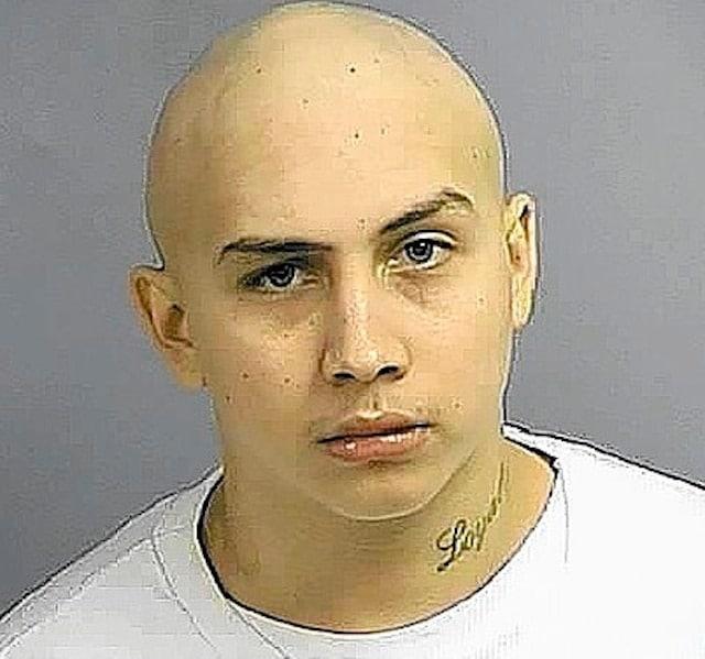 Taser in eye stunned armed suspect
