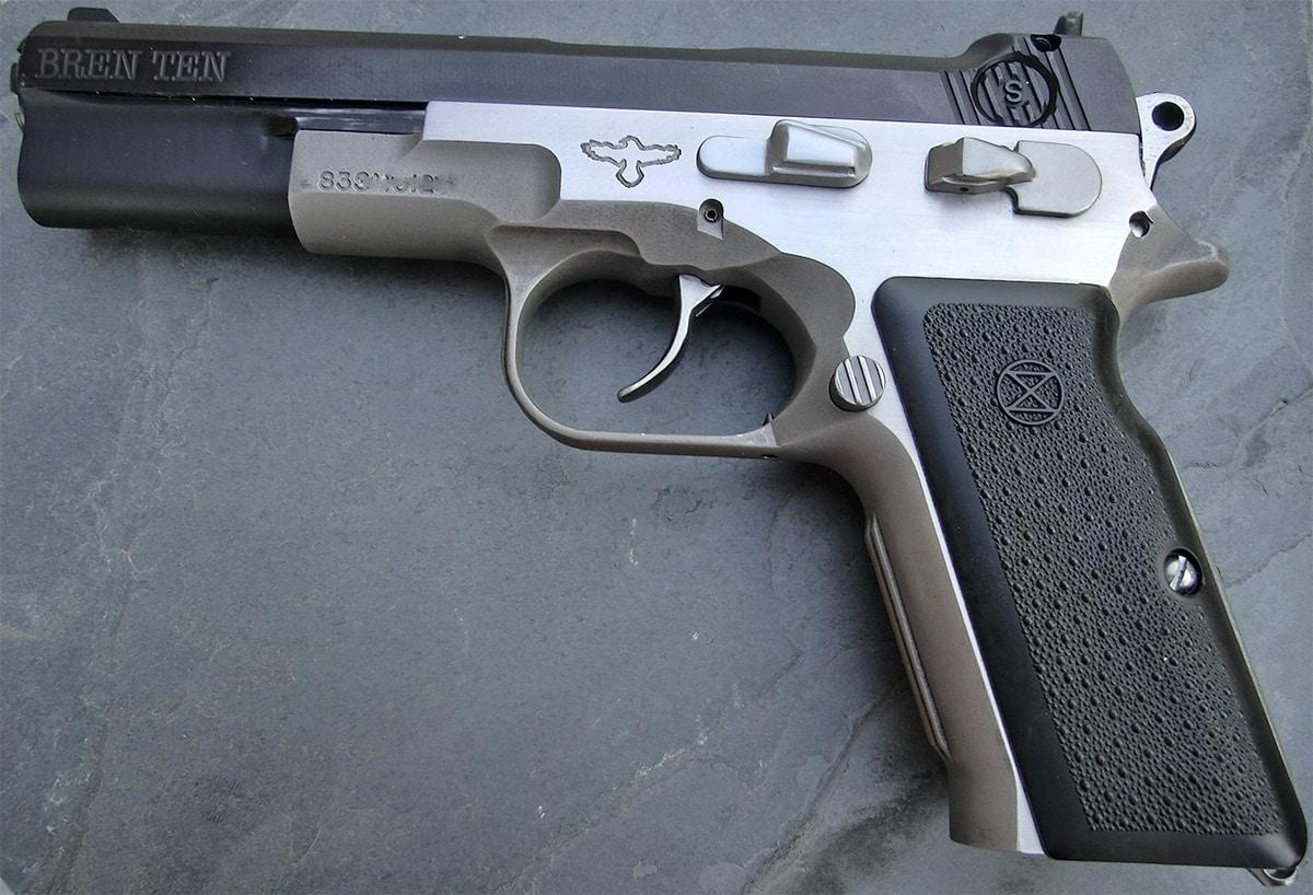 bren ten magnum pistol