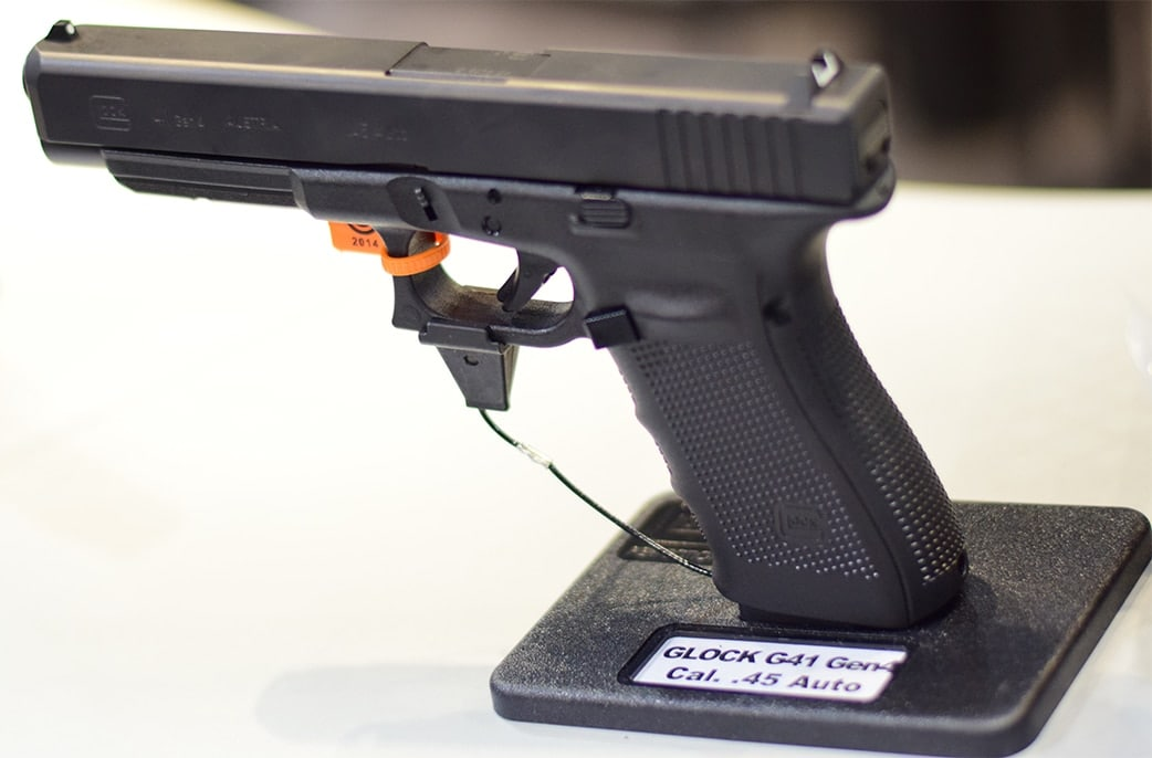 Glock's new Competition .45, the G41. Photo Credit: James Grant
