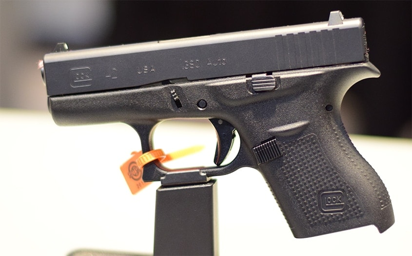 Glock finally does the Kurtz with the G42 in .380 ACP